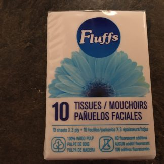 3-Ply White Tissues - Pouch [Assorted]