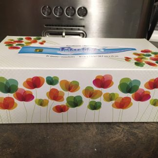 3-Ply White Tissues - Box [Flowers]